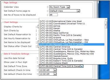 time zone - easy innkeeping software
