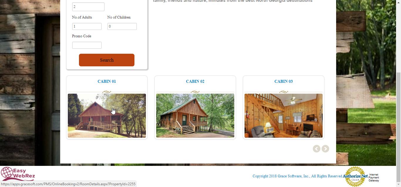 EasyInnkeeping Online Booking Engine