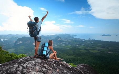 digital natives enjoy travels