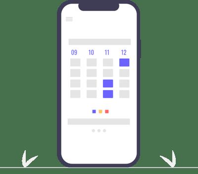 New reservation calendar